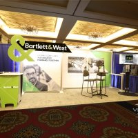 10x20 Inline Exhibit designed by Vision Exhibits