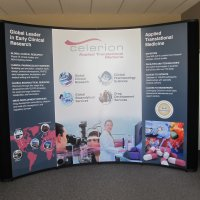 10x10 Nomadic Classic Instand Pop-up display designed by Vision Exhibits