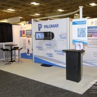 10x20 Exhibit Inline designed by Vision Exhibits