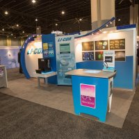 10x20 Exhibit designed by Vision Exhibits