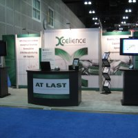 10x20 Exhibit Rental designed by Vision Exhibits