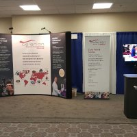 10x20 Inline Exhibit provided by Vision Exhibits