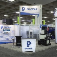 20x20 Peninsula Exhibit Rental designed by Vision Exhibits